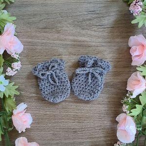 Baby Scratch Mittens, Newborn Mittens